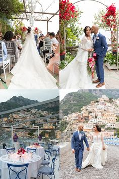 Gorgeous details and inspiration at this real destination wedding in Positano, Italy. Wedding Tips, Wedding Details, Wedding Gowns, Our Wedding, Artificial Floral Arrangements, Positano Italy, Destination Wedding Locations, Future Daughter
