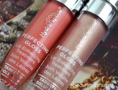 Hydropeptide Perfecting Gloss Lip Enhancing Treatment Beach blush and Nude Pearl via @BeautyTidbits
