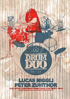 Drum Duo by Pawel Janczarek