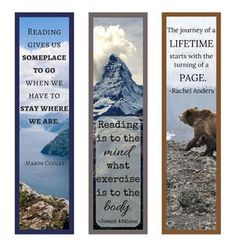 Any avid reader needs this beautiful Book Quotes Printable Bookmark Set. These printable bookmarks are each decorated uniquely with gorgeous images and wonderful literary quotes that express the beauty of books. Free Printable Bookmarks, Bookmark Template, Paper Bookmarks, Printable Thank You Cards, How To Make Bookmarks, Printable Quotes, Bookmark Ideas, Free Printables, Origami Bookmark