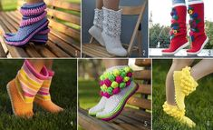 It is considered that the crochet and knitted things are for winter season and also the boots. What about crochet boots for Summer? If you are a fan of bright
