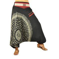 virblatt - Aladdin pants Nirvana black - Mandala Collection - Collections