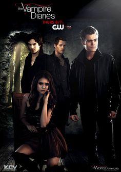 Poster  promo Vampire Diaries Season 3 by KCV80.deviantart.com on @deviantART