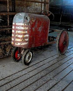 Barn Tractor by Lynn Fagerlie, via Flickr