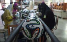Pakistan shoots state-of-the-art 'Brazuca' to Brazil | Life | Saudi Gazette