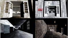 廃虚廊下ステージ - BowlRoll
