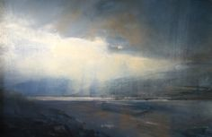 "Zarina Stewart-Clark, 'Early Light over Beinn Eighe' (Oil on panel, 30"" x 40"") http://www.panterandhall.com/Scottish-Show-2014-Gallery.aspx"
