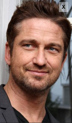 Gerard Butler and YES, I meant to put him under Yummy!