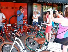 Using Pedego Electric Bikes to do the Music City tour in Austin.  Very cool!