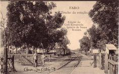 Faro : Estação Algarve, Portugal, Nostalgia, Old Photos, Poster, Outdoor, Paisajes, Lighthouse, Places