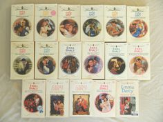 EMMA DARCY - HARLEQUIN PRESENTS ROMANCES–LOT OF 18 PAPERBACK BOOKS–CombineShip