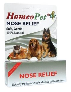 HOMEOPET LLC - NOSE RELIEF 15 ML. NOSE RELIEF 15 ML Homeopathic remedy provides relief from the symptoms of sinus or upper respiratory infections, colds and allergies including: runny nose, watery eyes, sneezing and congestion.