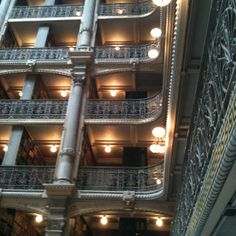 Peabody Institute library. Baltimore.