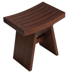 Escape from the ordinary with this Sofi solid teak shower stool by Bare Decor. This shower stool is comfortable as well as eco-friendly.