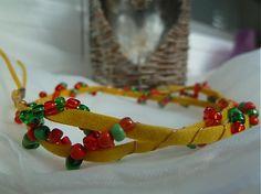 Martinuska / jesenný pletenec Handmade Bracelets, Napkin Rings, Napkins, Home Decor, Decoration Home, Towels, Room Decor, Dinner Napkins, Home Interior Design