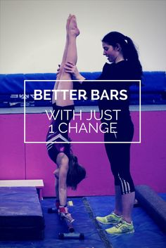 One small change to hugely better bars.