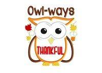 Owl-ways THANKFUL