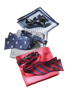 Tommy Hilfiger: Bow ties and pocket squares for the dad who appreciates the little details