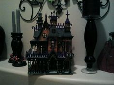Dollhouses bathroom and miniature on pinterest for Haunted bathroom ideas