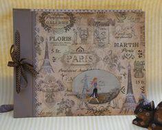Album París Paris, Vintage World Maps, Scrapbook, Crafts, Boxes, Paper Envelopes, Perfume Store, Manualidades, Scrapbooks