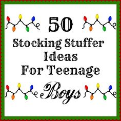 I like to get my Christmas shopping done early. Do you too? Last month, I was trying to think of stocking stuffers for my teenag...