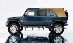The latest model of the Mercedes-Maybach luxury model range – The Mercedes-Maybach G 650 Landaulet. [Fuel consumption combined: 17.0 l/100 km | CO₂ emissions combined: 397 g/km |...