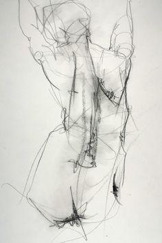 "chefharumi: Samuel Bonilla; Charcoal 2013 Drawing ""Sin Miedo a..."