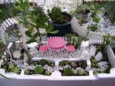 Image result for miniature gardens