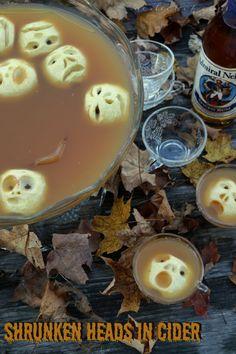 girlichef: Shrunken Heads in Spiced Cider {#SundaySupper}