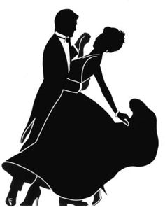 Dancing Couple Silhouette | Did the Ballroom Influence Backfire?