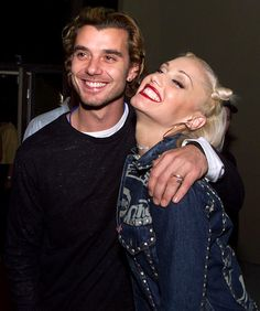 cute couple, gavin rossdale, bush , and gwen stefani, no doubt. still together after 14 years & 2 kids