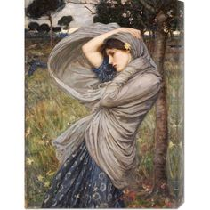 Big Canvas Co. John William Waterhouse 'Boreas' Stretched Canvas Art