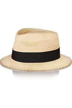 Chapeau panama été Eugenia Kim