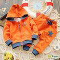 Male child sports set baby sweatshirt set spring children's clothing 0-1 - 2 - 3 baby spring 2015
