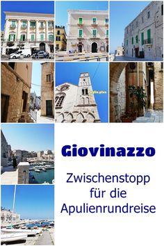 Giovinazzo - in der Nähe von Bari - ist ein bezauberndes kleines Küstenstädtchen, alter Hafen, nette Cafés, architektonische Besonderheiten, ein charmantes Wahrzeichen und sogar einige Dinge, die es so nirgendwo in Apulien gibt. Lohnt sich. Bari, Alter, Strand, Mount Rushmore, Mountains, Nature, Travel, Pictures, Italia