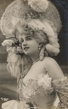 The beautiful early 20th century French actress, singer and dancer, Arlette Dorgère
