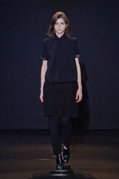 See all the looks from Costume National's Fall 2013 show. #pfw