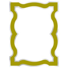 Jonathan Adler Queen Anne Dry Erase Board Wall Applique in Green $16.95