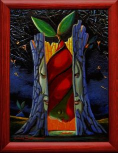 Buy RED GRAFT - (framed)., Acrylic painting by Carlo Salomoni on Artfinder. Discover thousands of other original paintings, prints, sculptures and photography from independent artists.