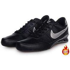 08624c2c53e578 Mens Nike Shox R2 Black Silver Cheap Nike