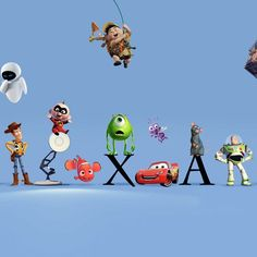The Pixar Theory: Every Character Lives in the Same Universe <---- I found this a while ago, and have been searching for it again. It's legit!