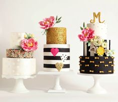 Cakes in Full Bloom Capture the allure of floral arrangements in bold cakes for any celebration. Create updated sugar flowers, foliage and three show-stopping cakes as you build fresh floral design skills. Pretty Cakes, Beautiful Cakes, Amazing Cakes, Fancy Cakes, Mini Cakes, Cupcake Cakes, Macaron Cake, Hazelnut Cake, Sophisticated Wedding