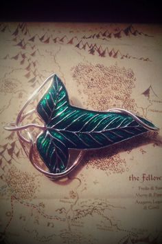 The Elven brooch given by Galadriel to each member of the Fellowship as they left Lothlorien ~ The Lord of the Rings