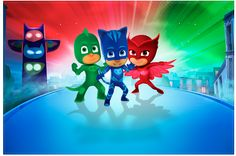 Pj Masks Printable Free Printables Invitations Party Kit