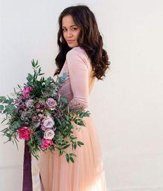 Soft Comfy Material Dress For Bridesmaid