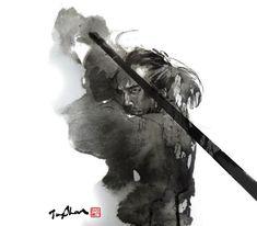 Rola Chang Illustrations    L'artiste taïwanais Rola Chang (Jungshan), travaille en tant qu'illustrateur indépendant. Avec des dessins à l'encre maîtrisé, ce dernier démontre tout son talent, notamment avec ses illustrations proches de l'univers des jeux vidéos de combats comme Street Fighter.