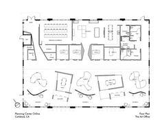 Coworking floorplan