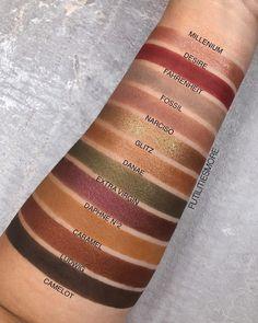 Nabla cosmetics eyeshadow fall colors