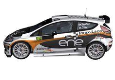 ENE Watch, Ford Fiesta R5, coche del Rally de España 2014