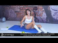 Esercizi Facili per Ridurre la Cellulite all'interno del Ginocchio - YouTube
